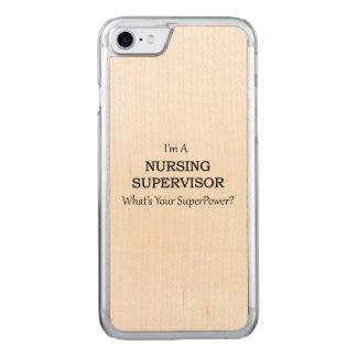 Nursing Supervisor Carved iPhone 8/7 Case