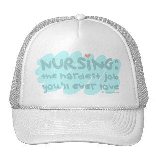 Nursing - the Hardest Job Hats