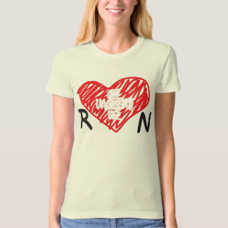 Nursing with a Heart T Shirts