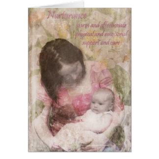 Nurturance Card