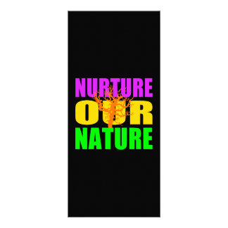 Nurture Our Nature rack card