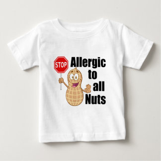 Nut Allergy Baby T-Shirt