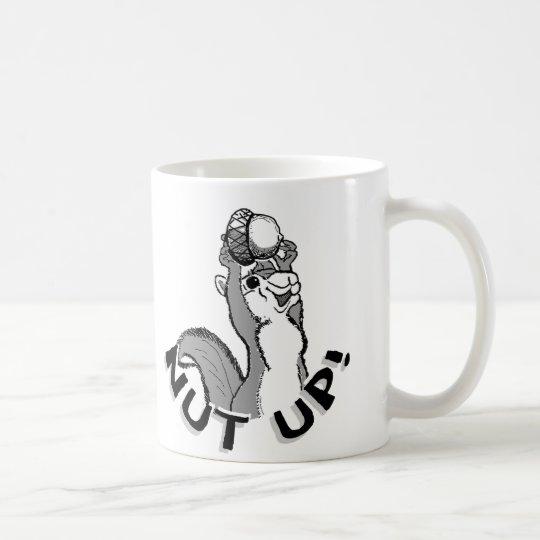 Nut Up Squirrel Coffee Mug