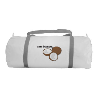 nutcase. (coconut) gym duffel bag