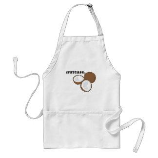 nutcase. (coconut) standard apron