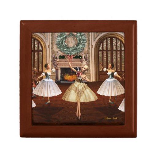 Nutcracker Ballerinas Keepsake Jewelry Box