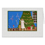 Nutcracker Ballet Blank Note or Greeting Card