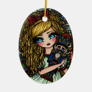 Nutcracker Ballet Girl Christmas Ornament