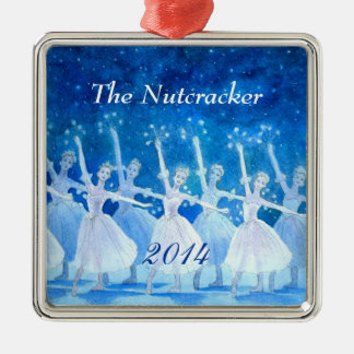 Nutcracker Ballet Ornament - Premium