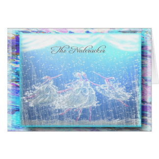 "Nutcracker Ballet ""Snow""-355 Greeting Card"