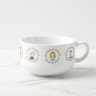 Nutcracker Characters Soup Mug