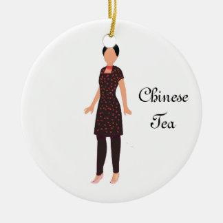 Nutcracker Chinese Tea Keepsake Ornament