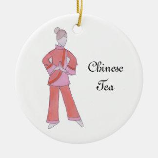 Nutcracker Chinese Tea Ornament