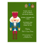 Nutcracker Christmas Party Invitation