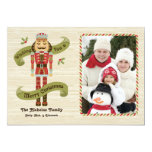 Nutcracker Christmas Photo Card 13 Cm X 18 Cm Invitation Card
