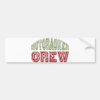 Nutcracker Dance Crew Design for Christmas Bumper Sticker