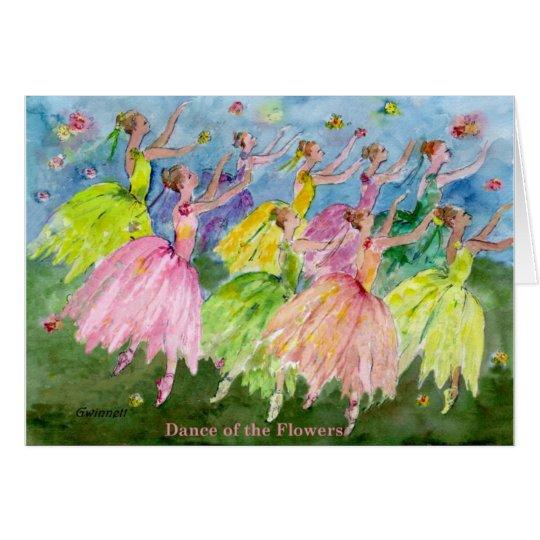 Nutcracker Dance of the Flowers Card