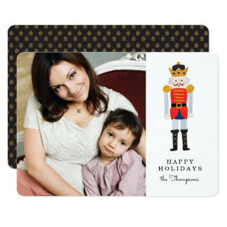 Nutcracker Holiday Photo Card