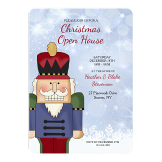 Nutcracker Invitation