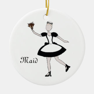 Nutcracker Maid Keepsake Ornament