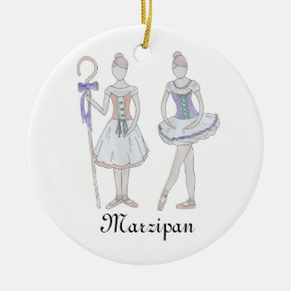 Nutcracker Marzipan Keepsake Ornament