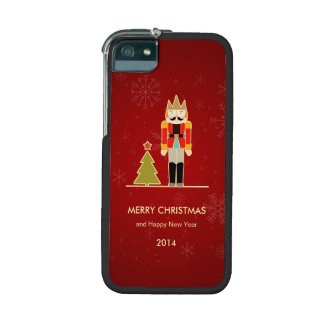 Nutcracker Merry Christmas and Happy New Year 2014 iPhone 5 Cases