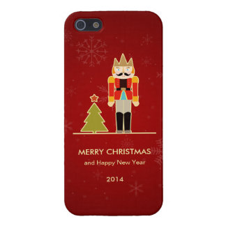 Nutcracker Merry Christmas and Happy New Year 2014 Cover For iPhone 5/5S