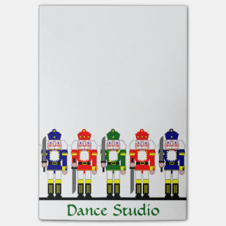 Nutcracker Personalized Christmas Ballet Gift Post-it Notes