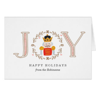 Nutcracker Prince Card