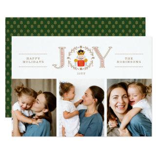 Nutcracker Prince Holiday Photo Cards
