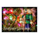 Nutcracker Season's Greetings Greeting Card