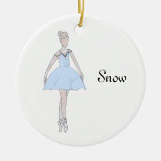 Nutcracker Snow Keepsake Ornament