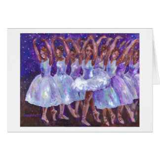 Nutcracker Snow Queen Greeting Card