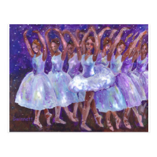 Nutcracker Snow Queen Postcard
