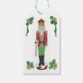 Nutcracker Soldier Gift Tags