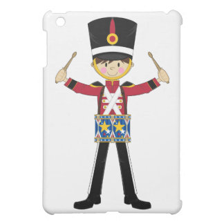 Nutcracker Soldier Playing Drums ipad Case