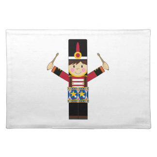 Nutcracker Soldier Playing Drums Placemat