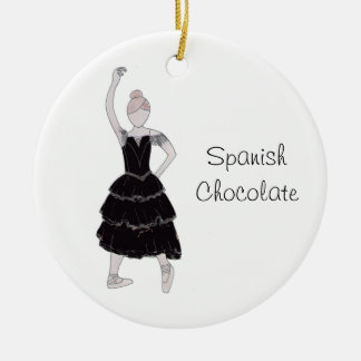 Nutcracker Spanish Chocolate Keepsake Ornament