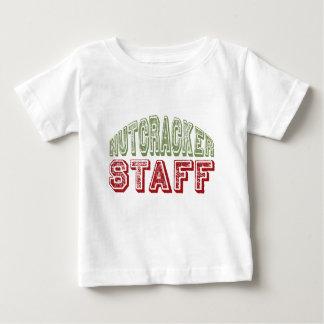 Nutcracker Staff Christmas Ballet Design Baby T-Shirt