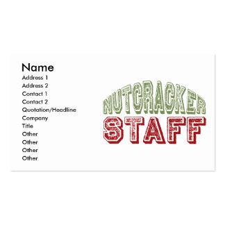 Nutcracker Staff Christmas Ballet Design Pack Of Standard Business Cards