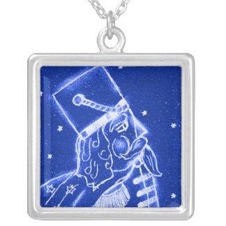 NUTCRACKER TOY SOLDIER in Bright Blue Jewelry