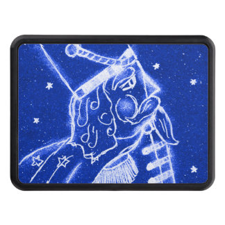 NUTCRACKER TOY SOLDIER in Bright Blue Hitch Cover