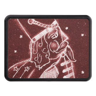 NUTCRACKER TOY SOLDIER in Cranberry Red