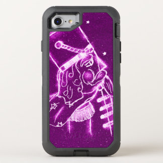 Nutcracker Toy Soldier in Magenta OtterBox Defender iPhone 8/7 Case