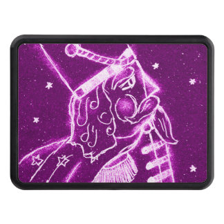 NUTCRACKER TOY SOLDIER in Magenta Hitch Cover