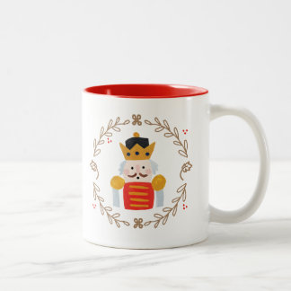 Nutcracker Two-Tone Coffee Mug