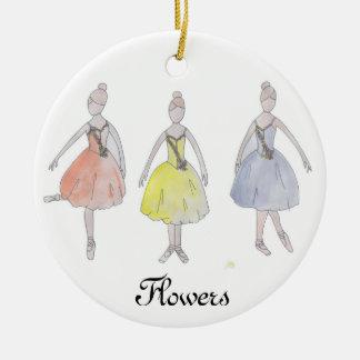 Nutcracker Waltz of the Flowers Keepsake Ornament