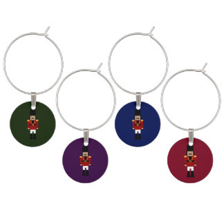 Nutcracker Wine Charms
