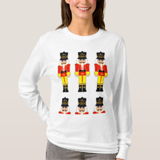 Nutcracker Women's Nano Long Sleeve T-Shirt, xmas T-Shirt