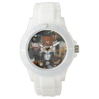 Nutcrackers Christmas Holiday Xmas Design Wristwatches